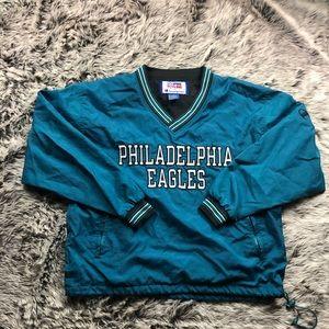 Vintage Philadelphia Eagles 🦅🏈  NFL Windbreaker
